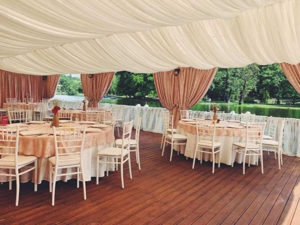 Nunta la terasa Craiova piscina sau lac
