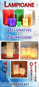 Lampioane zburatoare nunta Craiova