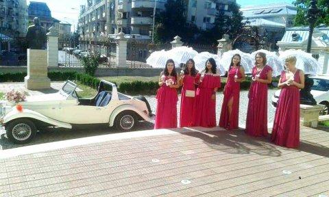 Masina epoca nunta Craiova