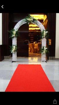 Covor rosu intrare nunta Craiova