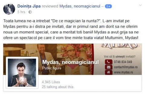 De ce magician la nunta